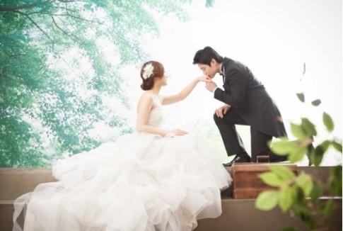 学生作品-影楼韩式新娘造