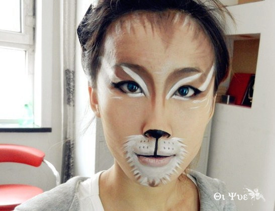 七月彩妆精彩课程瞬间分享:可爱动物妆